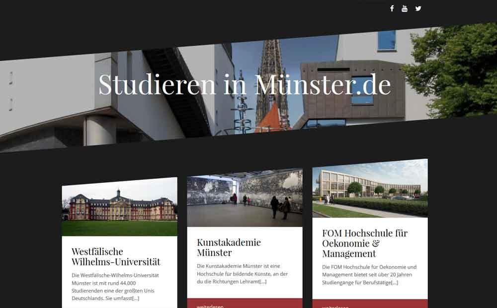 Studieren in Münster